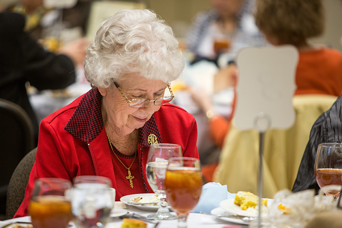 Widows' ministry prays for GTI at biannual luncheon