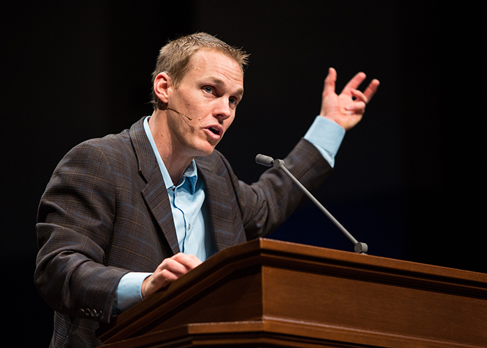 Platt encourages passion for global spread of God's glory