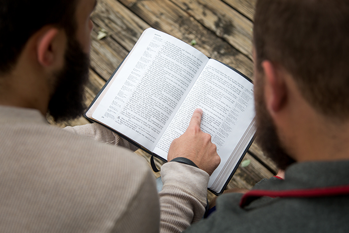 Professor acts as 'fisher of men,' sees 3 professions of faith