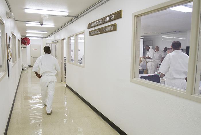 Darrington 'field minister' brings Gospel witness to Huntsville prison