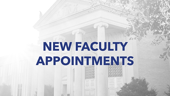 Seven administrative staff appointed to faculty
