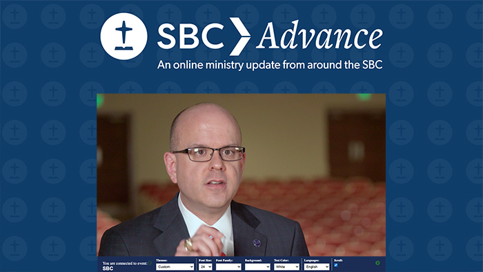 Greenway brings 'word of hope' in ministry update to SBC