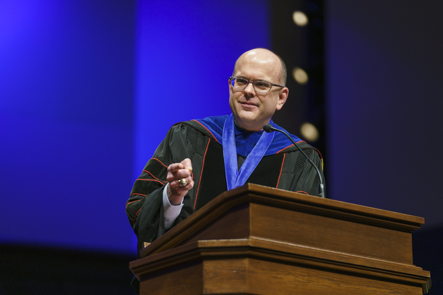 'We will never be the church triumphant if we are a people divided,' Greenway preaches during convocation sermon