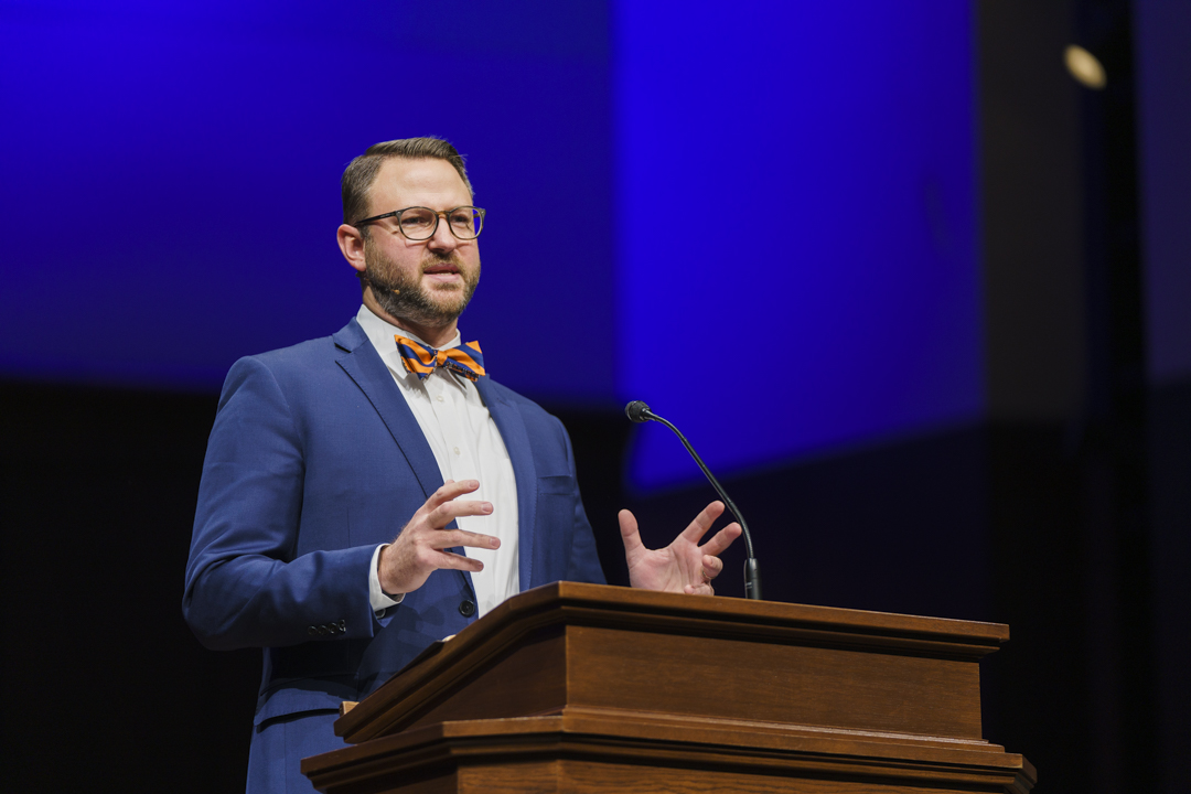 Prioritize the Gospel with a charitable and convictional courage, Brian Arnold preaches