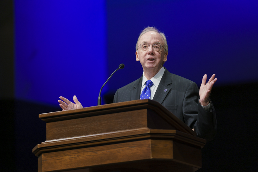 'Southwestern tradition' of theological education 'worthy of imitation,' Dockery says in Founder's Day address