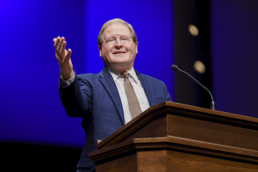 'Savor the longsuffering of God,' McKellar preaches