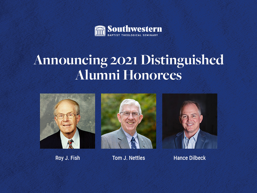 Fish, Nettles, Dilbeck to be named 2021 distinguished alumni