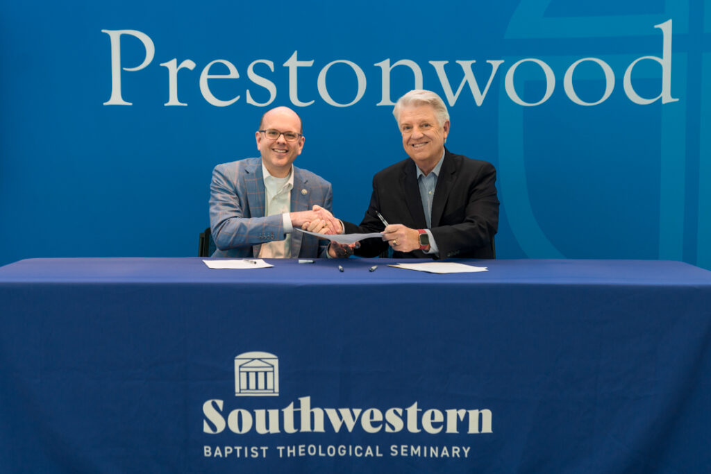 Southwestern Baptist Theological Seminary and Prestonwood Baptist Church Announce Internship Partnership