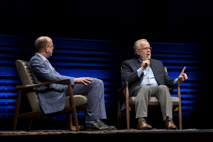Litton addresses 'serious' issues facing Executive Committee, sermon plagiarism in conversation at Southwestern Seminary