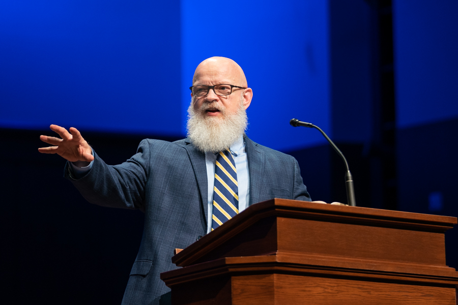 Pratt encourages students to see missions in all theological studies