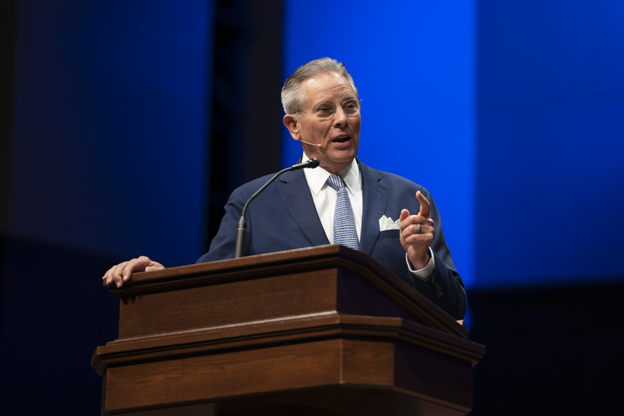 Hawkins outlines seven lessons from the lives of Norris, Truett during Southwestern Seminary chapel