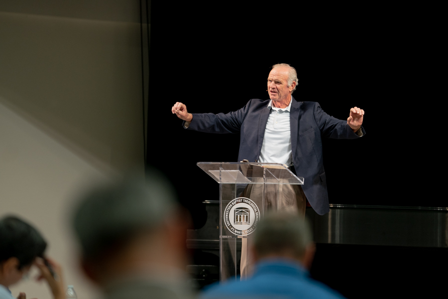 Conference offers biblical model for preaching and teaching Galatians